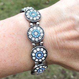 Vintage sparkly bracelet